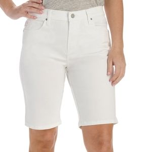 INC Denim Curvy Fit Shorts